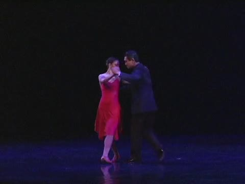 Girl in the red dress TANGO