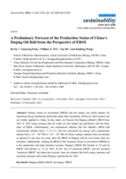 A preliminary forecast of the production status of China's Daqing oil field from the perspective of EROI
