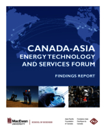 Canada-Asia energy technology and services forum : findings report