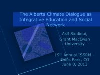 The Alberta climate dialogue as integrative education: deliberative democracy meets climate change