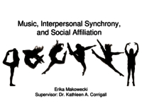Music, interpersonal synchrony, and social affiliation