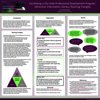 Facilitating a city-wide professional development program: Edmonton information literacy teaching triangles