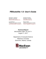 PBSsatellite 1.0: user's guide