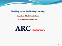 Teaching versus facilitating learning