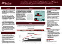 Household level FireSmart adaptation cost analysis: private property risk mitigation in the wildland-urban interface