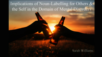 The effects of noun-labelling by others and the self in the domain of mental disorders