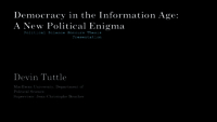 Democracy in the information age: the death of consciousness