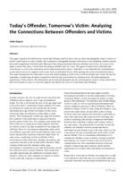Today's offender, tomorrow's victim: analyzing the connections between offenders and victims