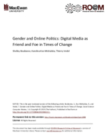 Gender and online politics: digital media as friend and foe in times of change