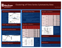 Clustering of time series cytotoxicity data