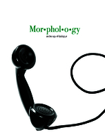 Morphology: anthology of dialogue: a visual exploration of dialogue in literature
