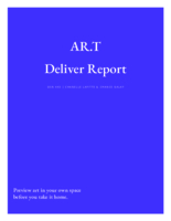 AR.T deliver report