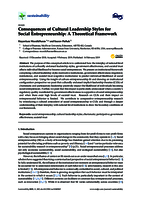 Consequences of cultural leadership styles for social entrepreneurship: a theoretical framework