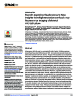 Franklin expedition lead exposure: New insights from high resolution confocal x-ray fluorescence imaging of skeletal microstructure