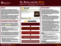The mentor and the MUSe: engaging faculty in undergraduate student publishing