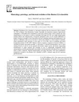 Mineralogy, petrology, and thermal evolution of the Benton LL6 chondrite