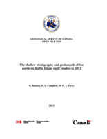The shallow stratigraphy and geohazards of the northern Baffin Island shelf: studies to 2012