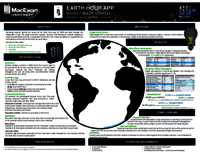 Earth Hour app marketing research