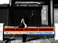 Knowledge without borders: the open access movement's impact on the flow of information