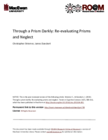 Through a prism darkly: re-evaluating prisms and neglect
