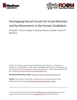 Overlapping neural circuits for visual attention and eye movements in the human cerebellum
