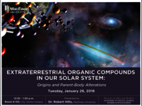 Extraterrestrial organic compounds in our solar system: origins and parent-body alterations