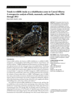 A retrospective analysis of birds, mammals and herptiles, 1990-2012