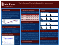 The influence of noise in cytoxicity assessment